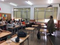 Carta d'agraïment dels alumnes de tercer d'ESO a Carme Junyent