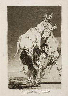 http://commons.wikimedia.org/wiki/File:Museo_del_Prado_-_Goya_-_Caprichos_-_No._42_-_Tu_que_no_puedes.jpg?uselang=es