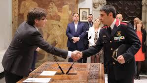 El cap de la policia catalana, nou major dels Mossos d'Esquadra