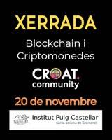 Xerrada blockchain i crypomonedes. CROAT