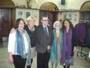 Judit Camps (1995-2014), Dolors Iglesias (1975-1979, 1980-1986 i 1987-2014), Luís Belenes (des de 1983), Asun Álvarez (1979-2005) i Marta Navarro (des de 2005).JPG