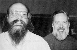 Ken Thompson & Dennis Ritchie