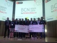 """Raúl Santos, exalumno del Puig, gana el concurso de programación """"BCN apps jam for DEMOCRACY!"""""""