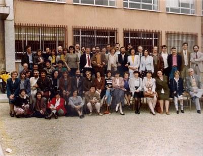 Professorat, maig de 1993. 25è aniversari de l'Institut Puig Castellar
