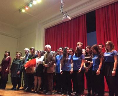 Imatges del concert del cinquantenari de l'Institut Puig Castellar