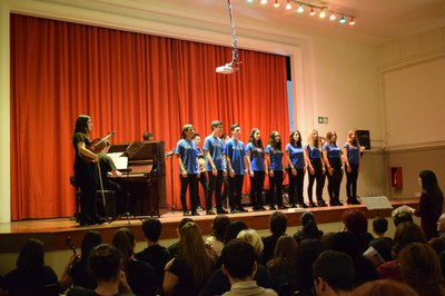 Concert de Musicaula al Puig Castellar
