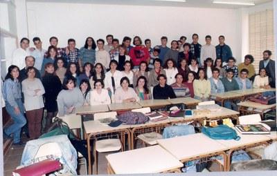 Alumnes del COU 2, curs 1994-95