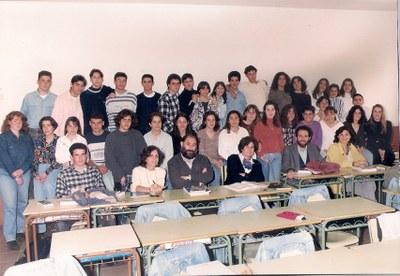 Alumnes del COU 4, curs 1994-95