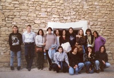 Casa natal de Goya, en Fuendetodos, marzo de 1995
