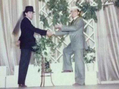 Obra de teatro de Oscar Wilde representada en nuestro centro a finales del curso 1983-1984