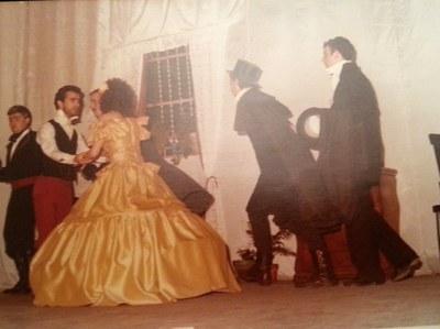 Representació de Mariana Pineda de Federico García Lorca a càrrec del grup Algarabía, format per alumnes de nocturn