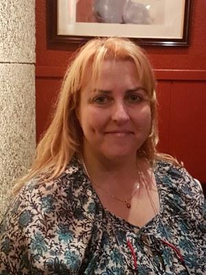 Foto de María Victoria L. P., professora de Matemàtiques