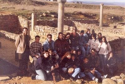 En Numancia, Soria, marzo de 1995
