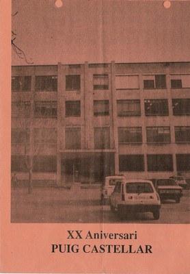 Programa d'activitats 20è aniversari de l'Institut Puig Castellar