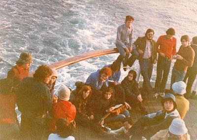 Viatge de fi de curs (6 d'abril de 1974)