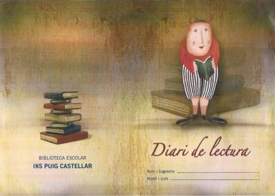 Caràtula del quadern de lectura de l'Institut Puig Castellar