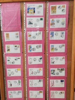 El Cercle Filatèlic de Santa Coloma de Gramenet dedica un segell al 50è aniversari del Puig Castellar