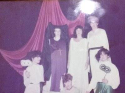 Obra de teatro de Max Aub representada en nuestro centro a finales del curso 1983-1984