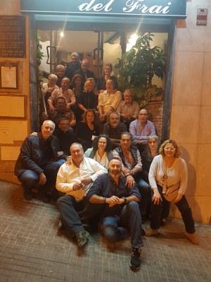 El grup 201 del curs 79-80 torna a reunir-se després de quasi 40 anys