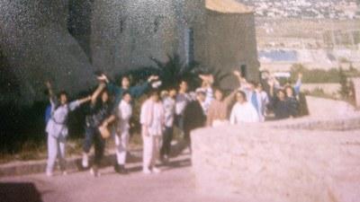 Fotografies d'un viatge a Eivissa dels alumnes de 3r de BUP