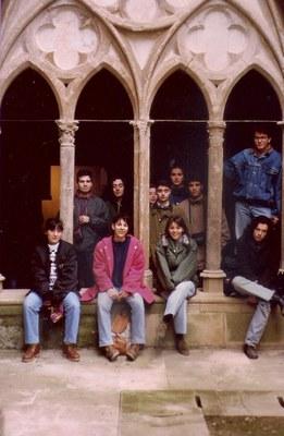 En Veruela, camino de Soria, curso 1991-1992