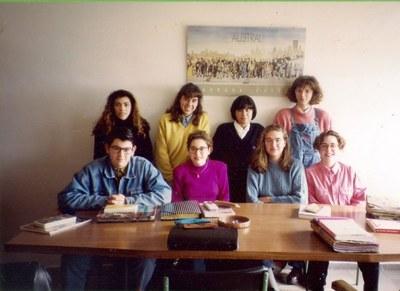 Alumnos de Literatura Castellana (COU 3)