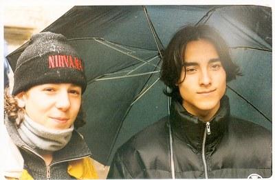 Viatge a Praga dels alumnes de COU (1996-97)