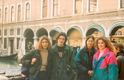 Viatge a Venecia i Praga dels alumnes de COU (1996-97)