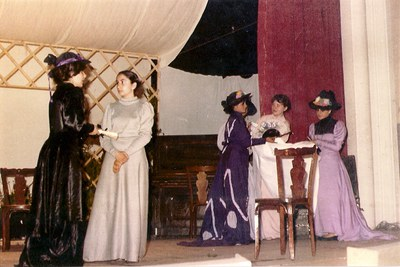 Representación de Doña Rosita la soltera, de Federico García Lorca