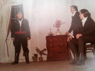 Representació de Mariana Pineda de Federico García Lorca el 25 de febrer de 1983
