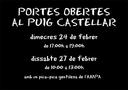 cartell portes obertes al Puig Castellar 2016.PNG