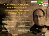 El professor Salvador López Arnal participa a l'homenatge al filòsof Francisco Fernández Buey, mort fa poques setmanes