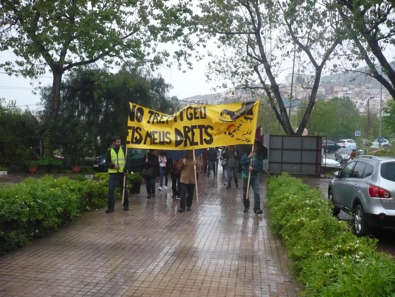 l'arribada dels manifestants 1.JPG
