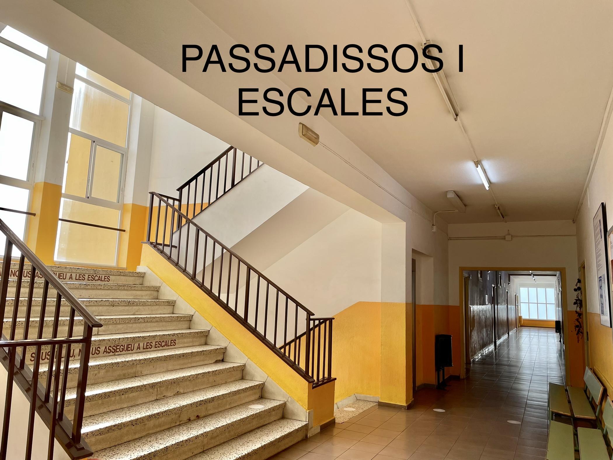 Passadissos i escales