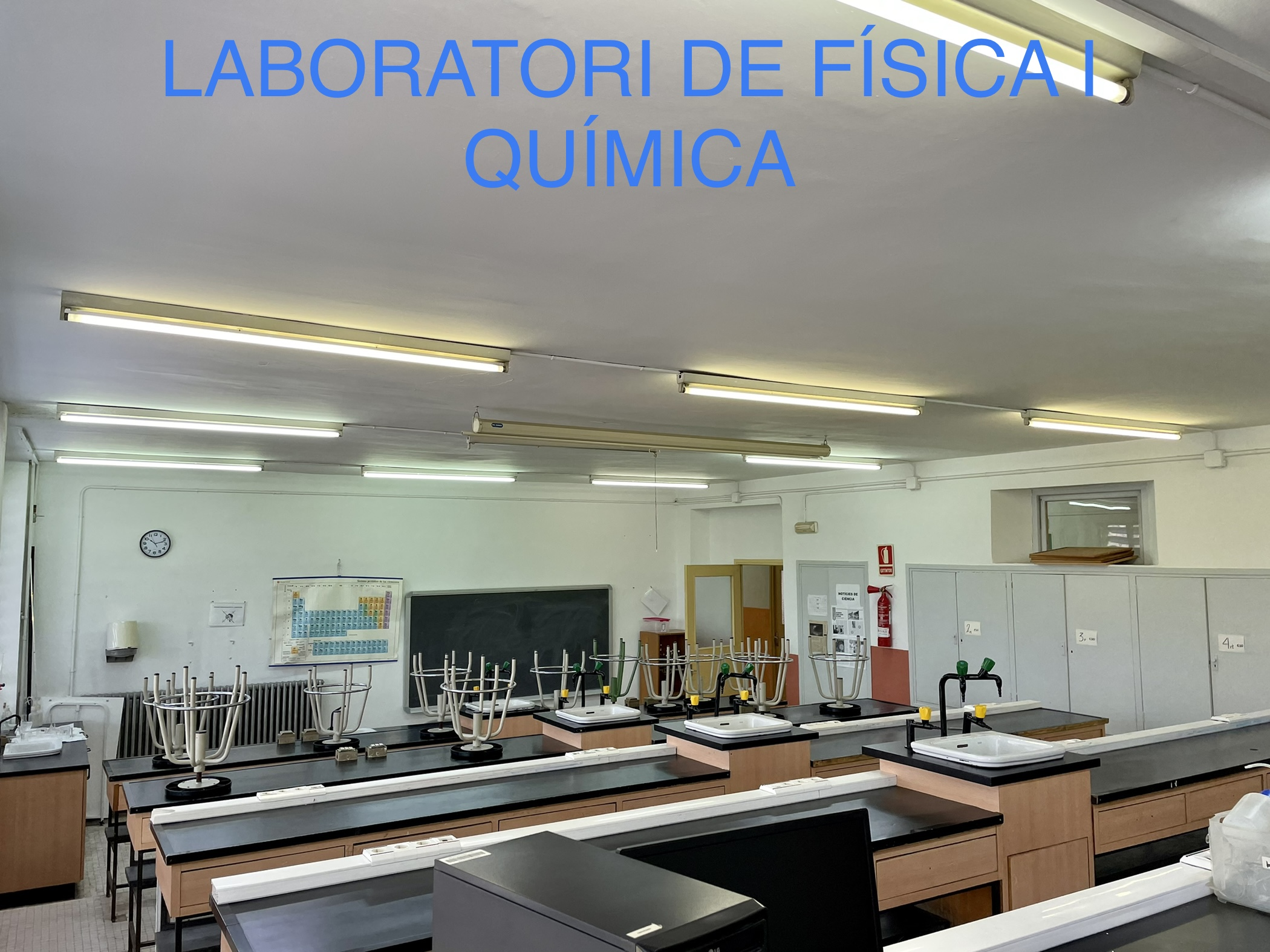 Laboratori de física i química
