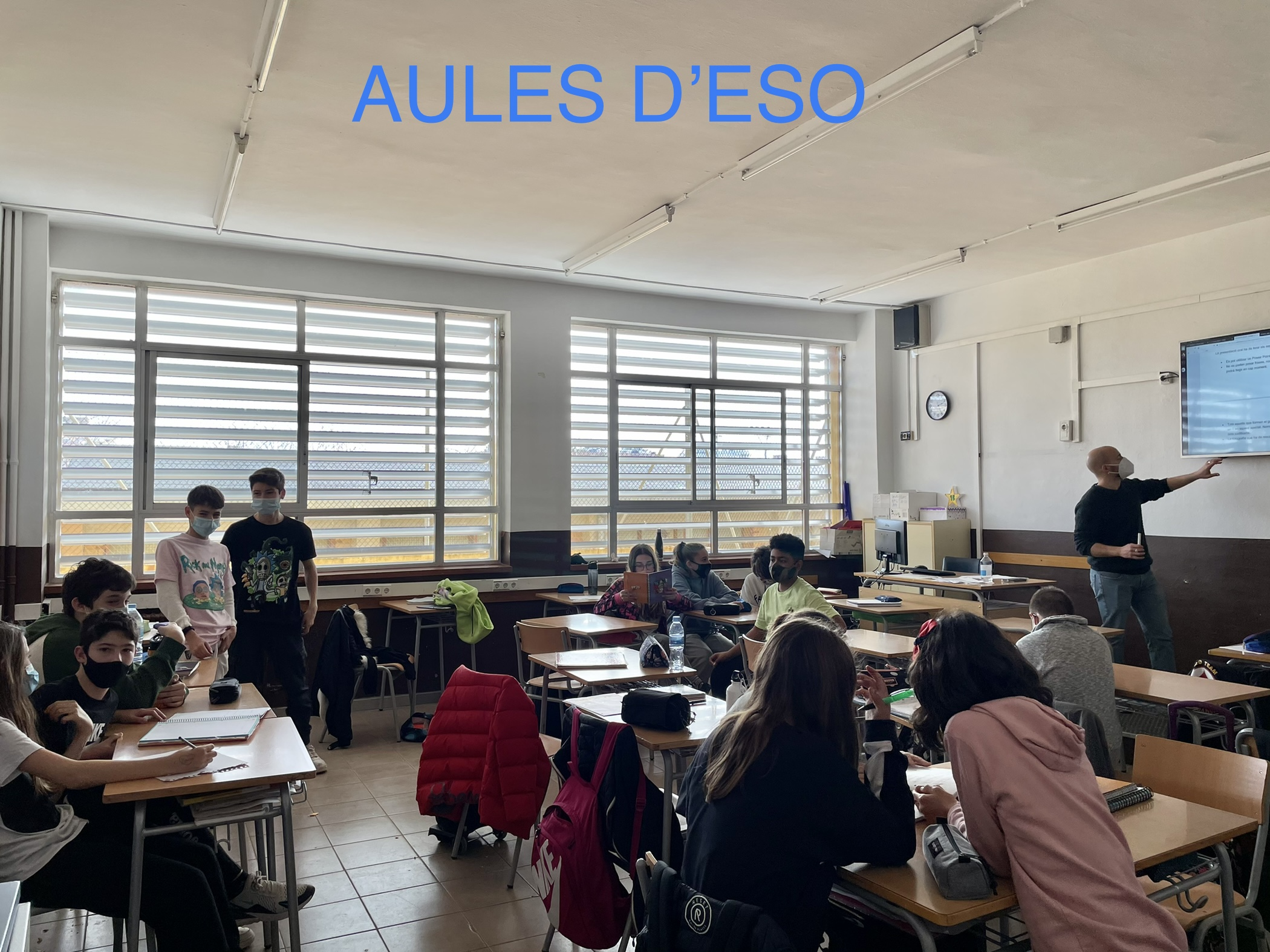 Aules d'ESO