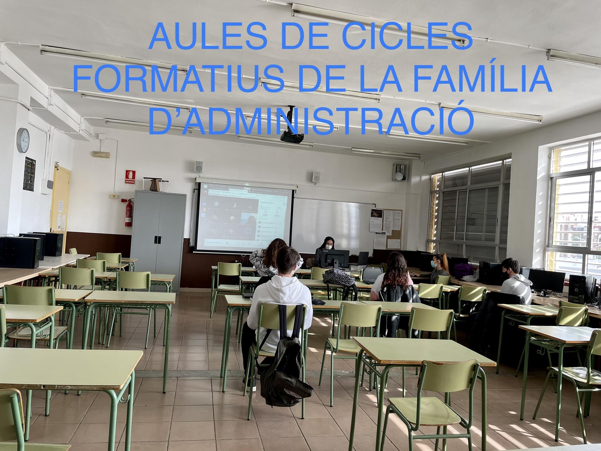 Aules de cicles formatius (administració)