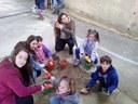 Els Padrins comparteixen temps amb els més petits del barri
